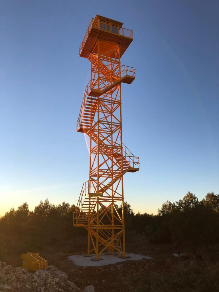 surveillance tower-of-fire-fighting