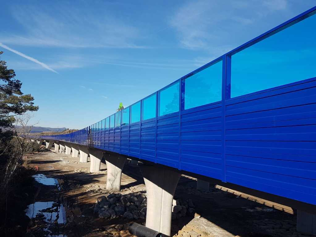 Bildschirm-acoustic-Autobahn-insametal